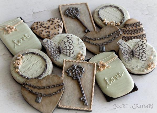 #2 - Valentine's Day Cookies by mintlemonade