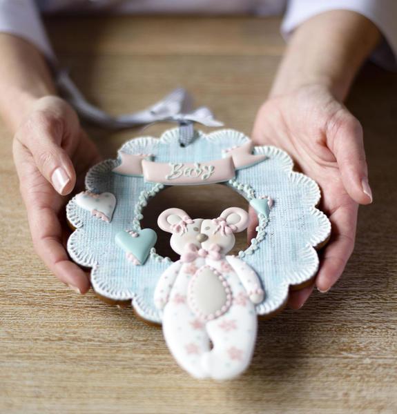 #8 - Baby Shower Cookie by Con Azúcar y Algodón