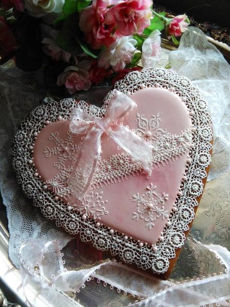 Teris Heart Cookie