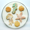 Sea Creatures, Lucy's Personal Favorite: Cookies and Image by Honeycat Cookies