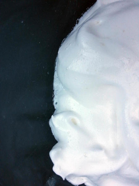 Meringue with Cream of Tartar, After 20 Hours