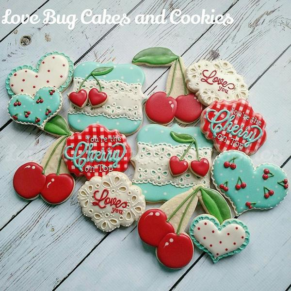 #2 - Cherry Valentine by Love Bug Cookies