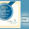 2015 Cookiers' Choice Awards Winner Banner: Graphic Design by Pretty Sweet Designs