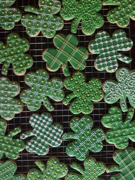 #2 - Shamrocks by Erica @ Snickerdoodledoo