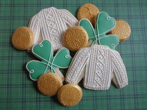 #3 - Sweaters and Shamrocks by Custom Cookies