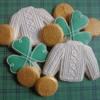 #3 - Sweaters and Shamrocks: By Custom Cookies