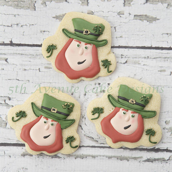 #4 - How to Decorate Leprechaun Cookies for St. Patrick's Day by bobbiebakes
