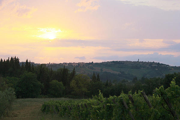 Tuscan Sunset: