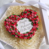 Wedding Roses Wreath Cookie: Cookie and photo by Barbara Anna Foss