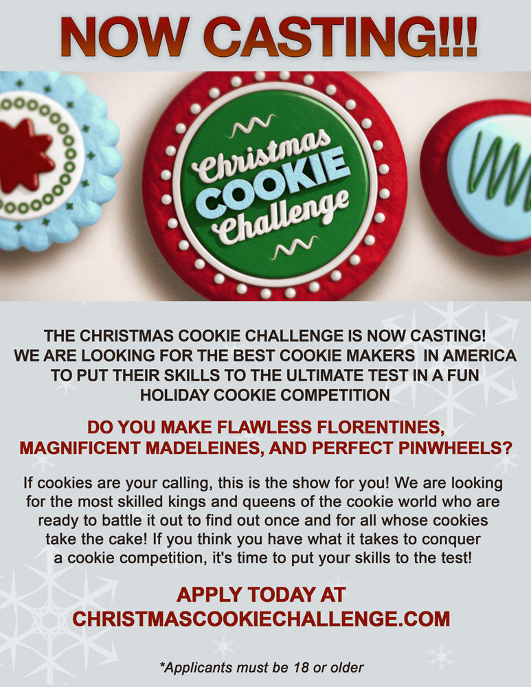 Food Network Casting Call for Cookiers! | Cookie Connection