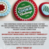 Christmas Cookie Challenge Poster: Poster Courtesy of the Food Network