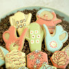 Retro Coffee Pots and Other Cookies: Cookies and Photo by Honeycat Cookies
