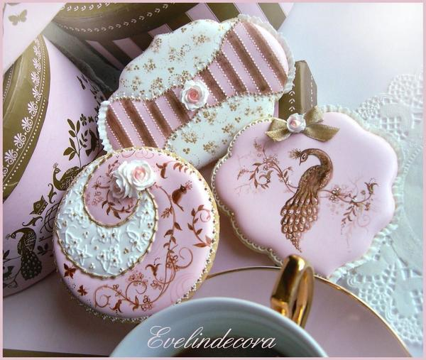 #1 - High Tea Party Cookies by Evelindecora