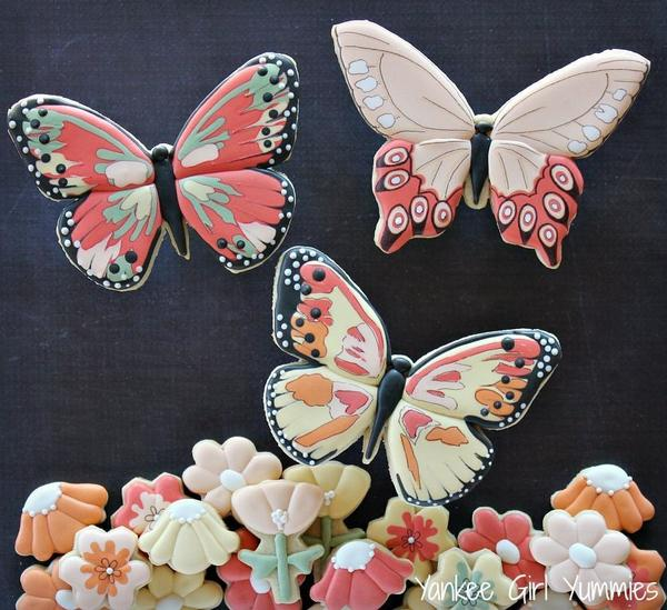#3 - Butterflies and Flowers by Yankee Girl Yummies