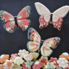 #3 - Butterflies and Flowers: By Yankee Girl Yummies