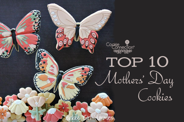 Mother S Day Cookies Pinterest