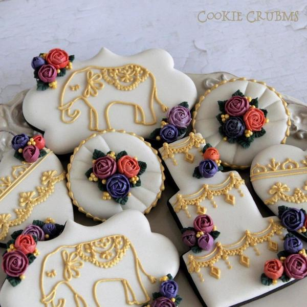 #3 - Indian Wedding Cookies by mintlemonade (cookie crumbs)