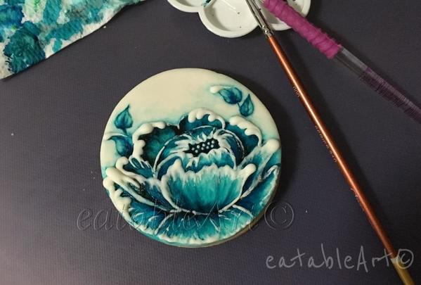 #8 - Blue Peony for Mothers' Day by eatableArt