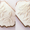 Piping Royal Icing Rose Petal Edges: Cookie and Photos by Dolce Sentire