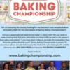 Spring Baking Championship Casting Flyer: Flyer Courtesy of Food Network