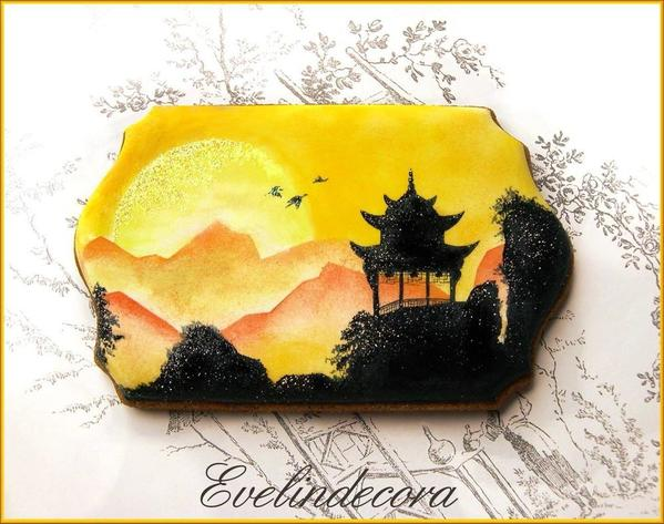 #1 - Japanese Landscape by Evelindecora