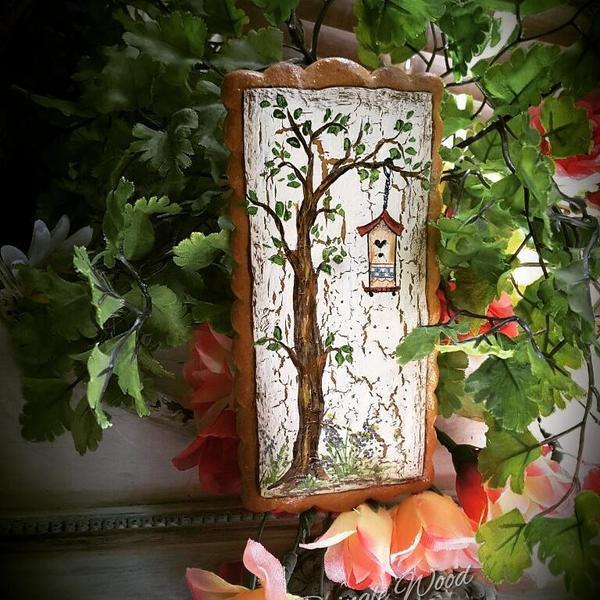 #6 - Birdhouse in Tree by Teri Pringle Wood