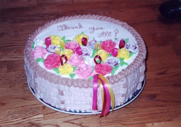 basket cake - Photo 2