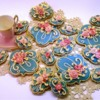 50th Wedding Anniversary Cookies: Cookies and Photo by Laegwen