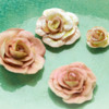 Shabby Chic Royal Icing Roses: Roses and Photo by Honeycat Cookies