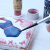 Handpainting Swimsuit: Cookie and Photo by Dolce Sentire