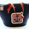 My Nautical-Themed Bag: Bag by Raquel; Photo by Dolce Sentire