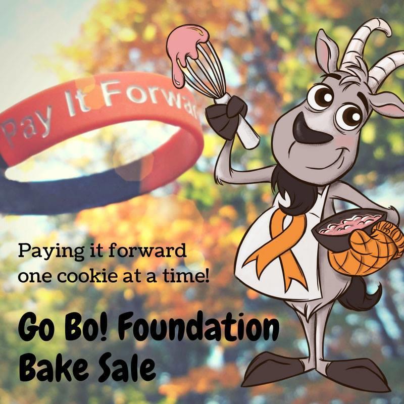 Fifth Annual Go Bo! Foundation Bake Sale