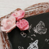 Royal Icing Rose Accents: Cookie and Photo by Dolce Sentire