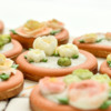 Close-up of Cookie Flower Pots: Cookies and Photo by Honeycat Cookies