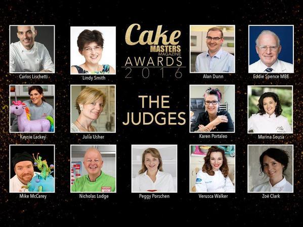 2016 Cake Masters Awards Judges