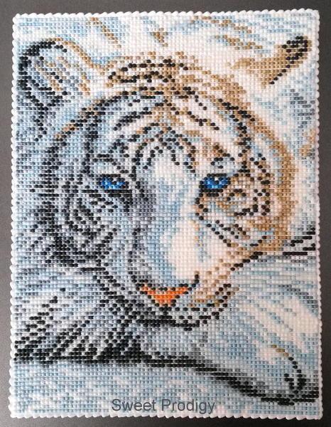 White Tiger post
