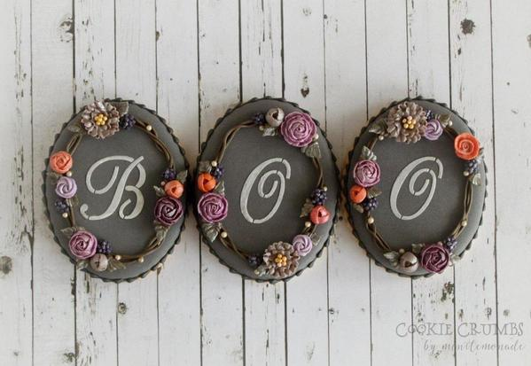 #2 - BOO Cookies by mintlemonade (cookie crumbs)