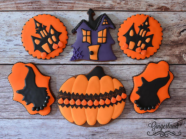 #4 - Halloween Cookies by Gingerland