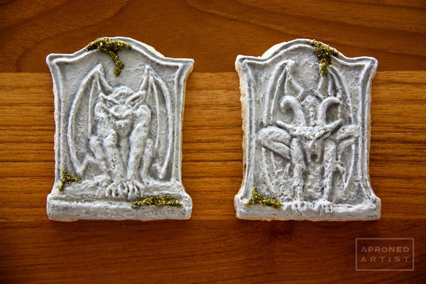 #9 - Gargoyle Tombstones by Aproned Artist