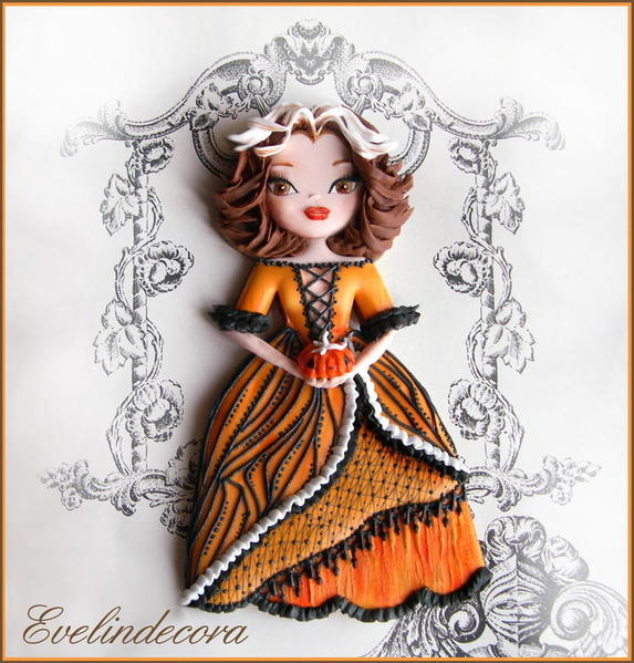 #8 - The Pumpkin Doll by Evelindecora