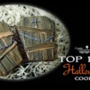 Top 10 Halloween Cookies Banner: Cookies and Photo by D&S; Graphic Design by Julia M Usher