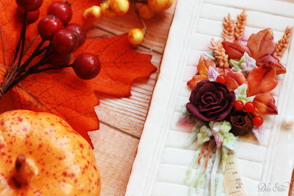 Fall colours cookie2