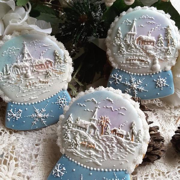 #3 - Snow Globes by Teri Pringle Wood