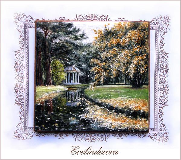 #2 - Autumn in Versailles by Evelindecora