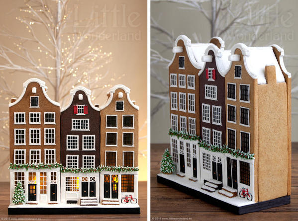#6 - Dutch Gingerbread Houses by Little Wonderland