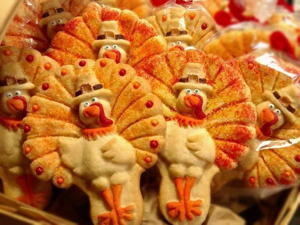 turkey cookies crop