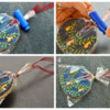 Pear Tree Christmas Bauble Cookie Collage 3: Photos and Cookies by Honeycat Cookies
