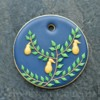 Piped Leaves: Photo and Cookie by Honeycat Cookies