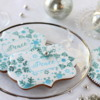"""""""Peace"""" Prettier Plaques Stenciled Cookies: Stencil Design, Cookies, and Photo by Julia M Usher"""