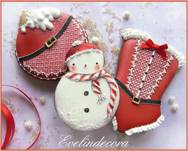 #7 - Christmas Cookies by Evelindecora